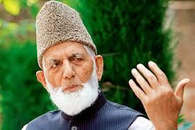 Geelani blames Delhi for bloodshed in Kashmir