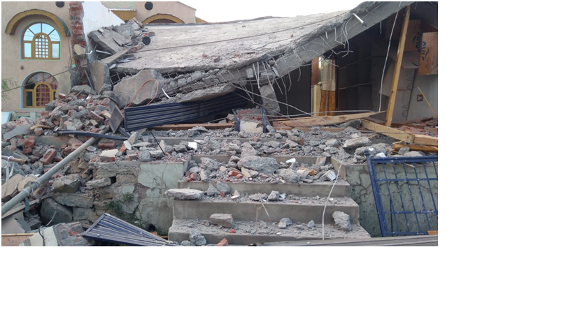 Several illegally raised structures demolished by Municipal Committee and Tehsil Administration in Pampore