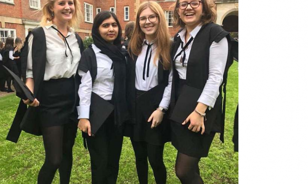 Malala Yousafzai graduates from Oxford University